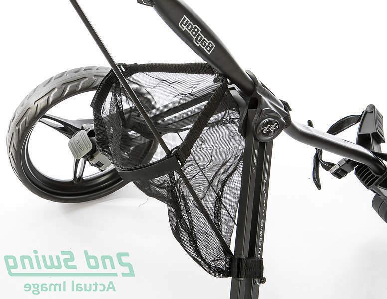 Bag DLX Pro Cart Silver Black MSRP $169.99