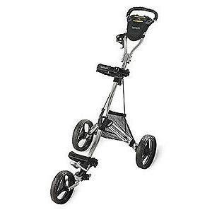 Bag DLX Pro Push Cart, Silver/Black
