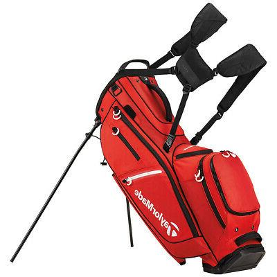 flextech crossover golf stand bag red 2017