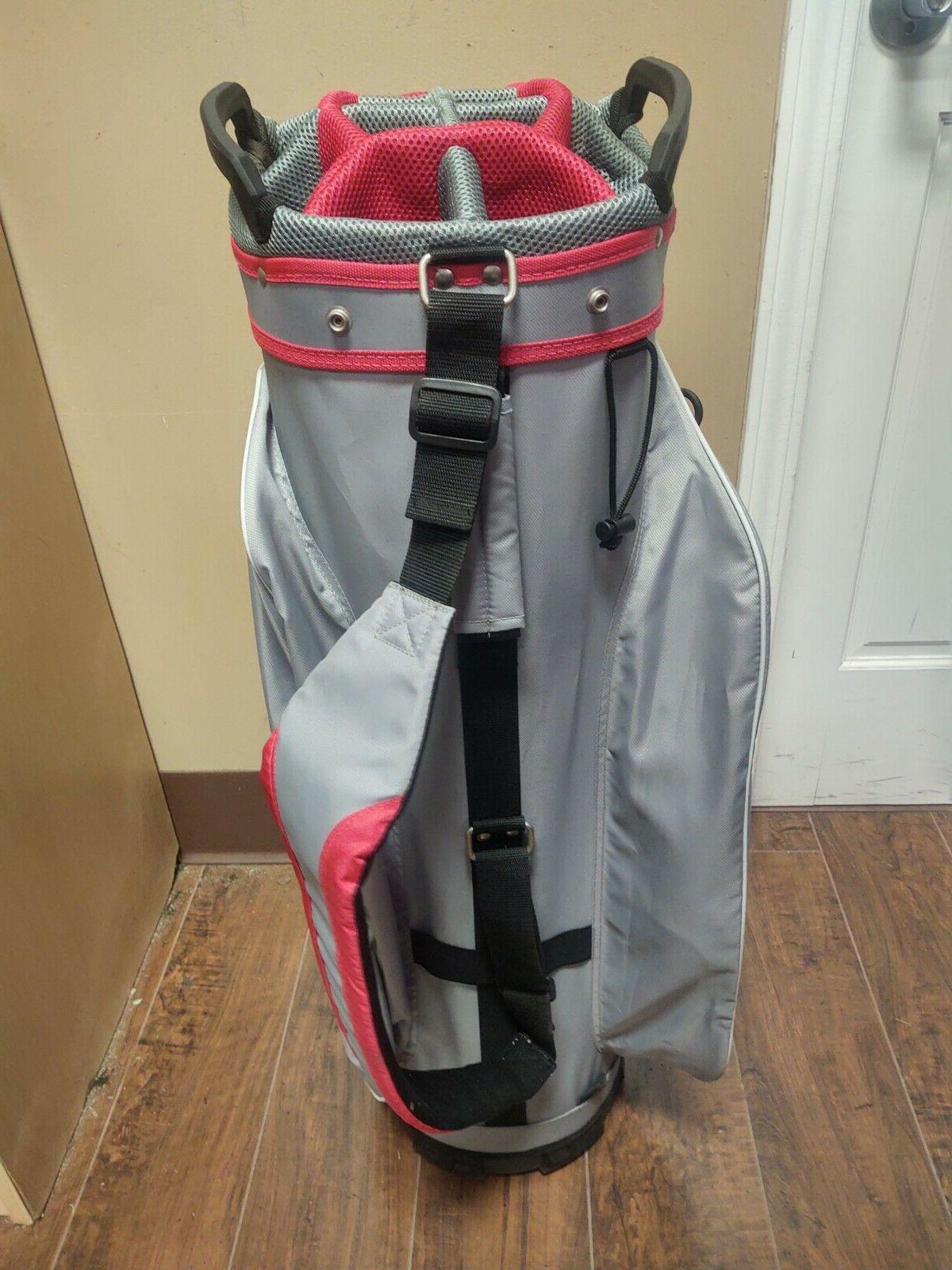 Cobra Fly-ZS Cart Bag with Raincover