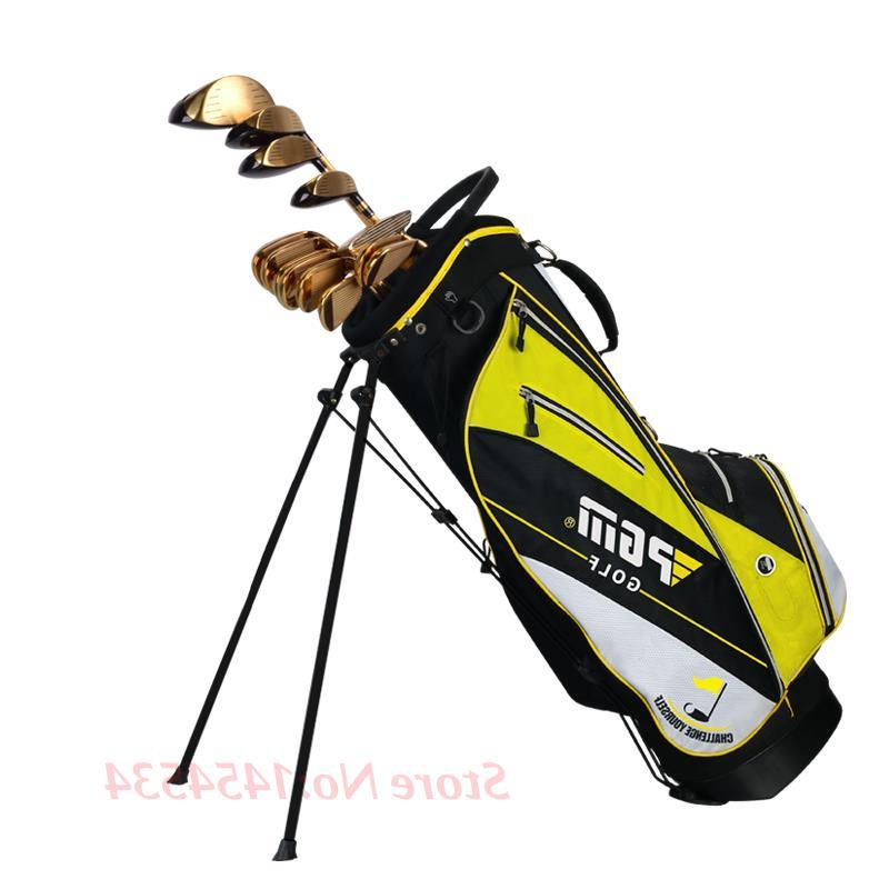PGM <font><b>Golf</b></font> Standard Frame Bracket <font><b>Bag</b></font> Lightweight <font><b>Cart</b></font> 14pcs Contained 14 Holes Portable