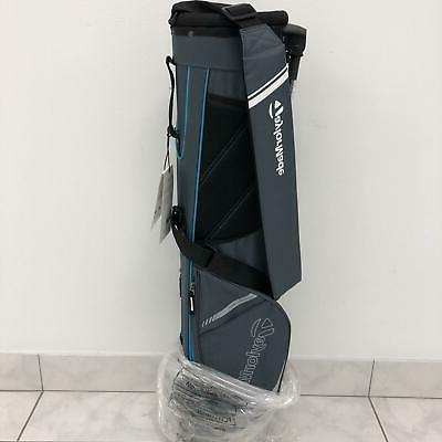New TaylorMade Golf- 2016 Quiver Stand Bag Gray/Aqua B117730