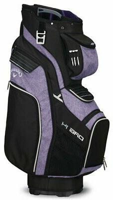 Callaway Golf 2018 Org 14 Cart Bag Black/ Purple/ Silver