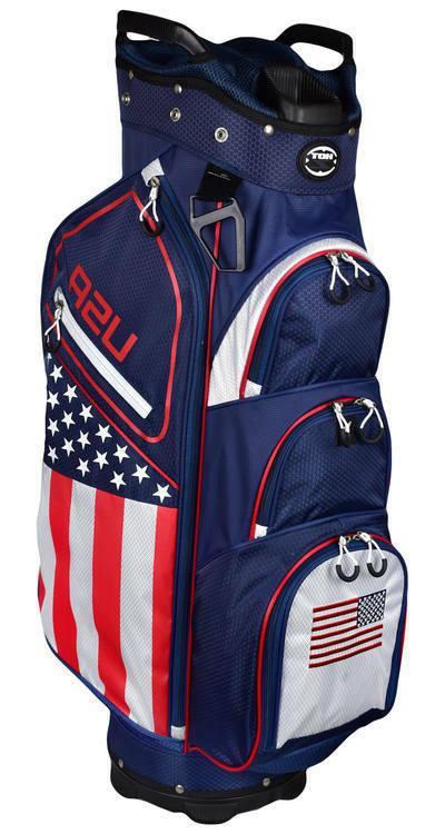 golf 2018 usa flag cart