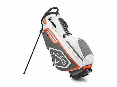 golf 2020 chev stand bag white charcoal