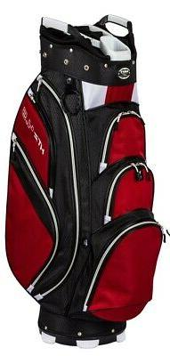 New Hot-Z Golf 4.5 Cart Bag Black/Red/White