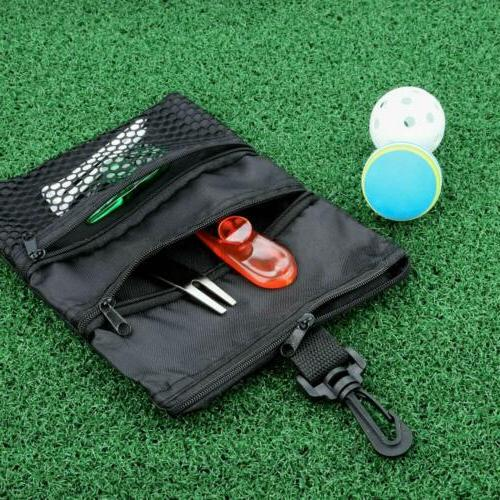 Golf Accessories Pouch Tote Hook Ship