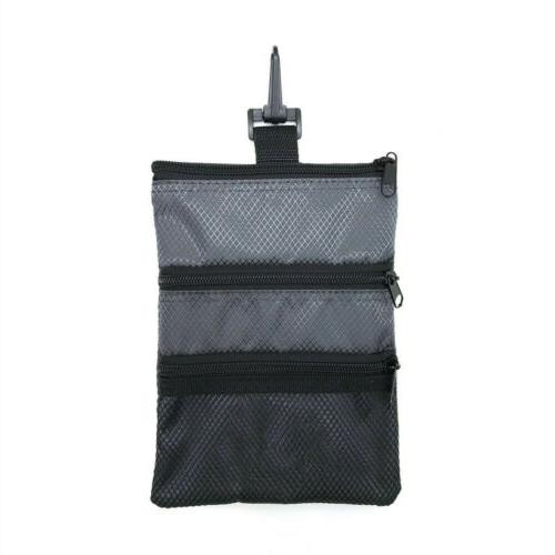 Golf Tote Hand Bag With Hook Black Ship