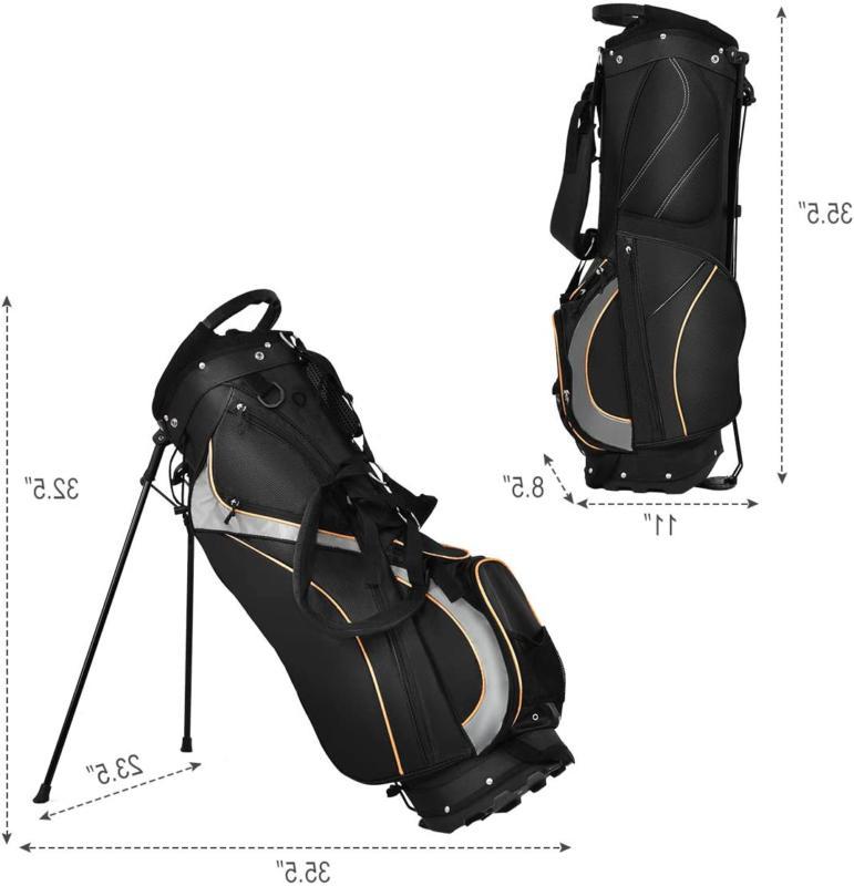 Tangkula Golf Way Light Weight Portable Golf Bag Waterproof