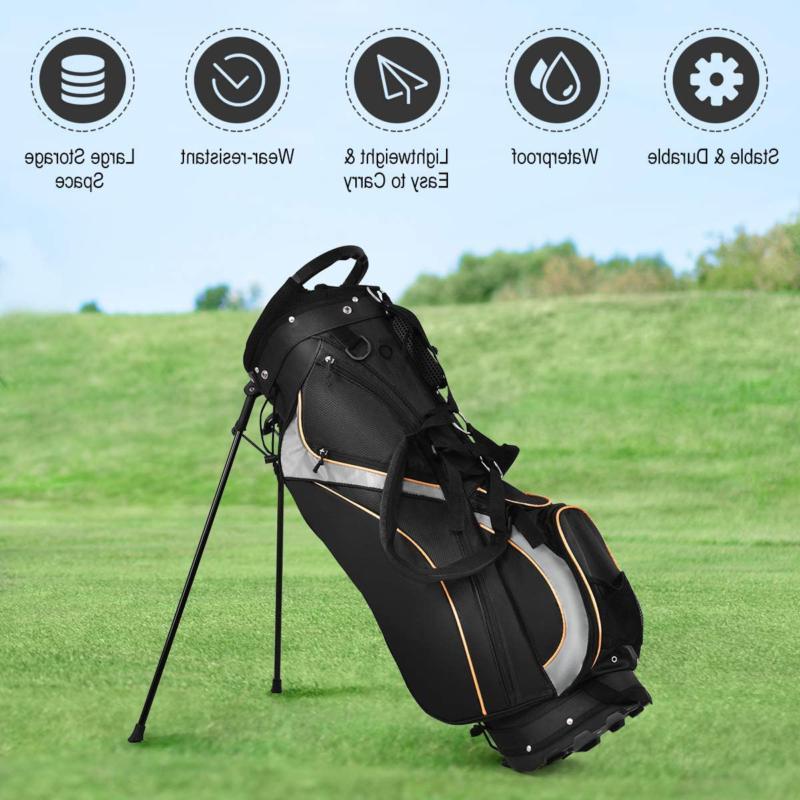 Tangkula Bag Way Divider Weight Portable Cart Bag Waterproof