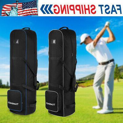 golf bag smooth rolling golf travel bag