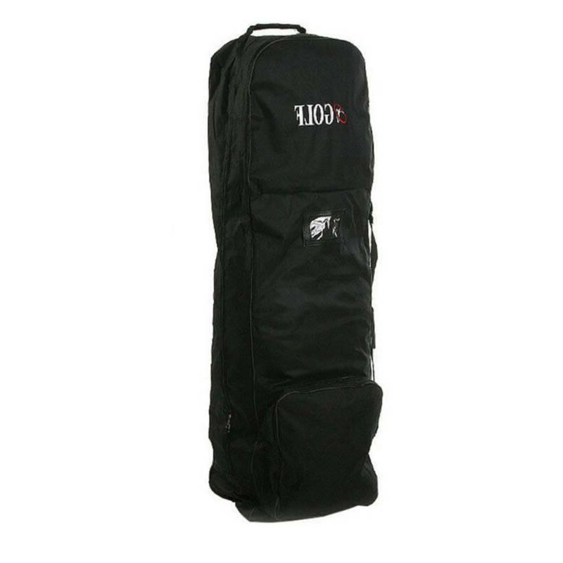 Golf Bag Air Travel Large Wheels Fording