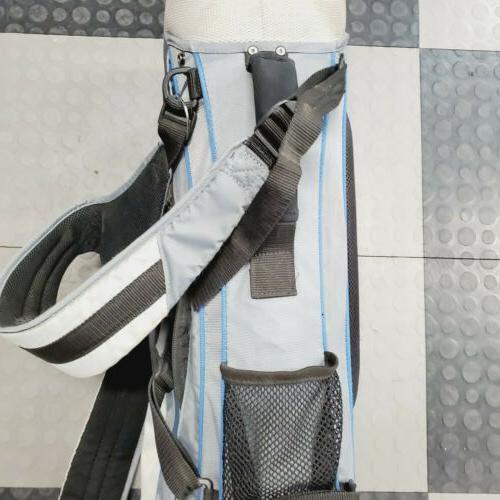 Nike Golf W/6 Way Back Pack System Blue