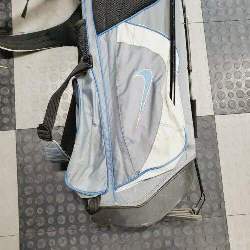Nike Golf Bag W/6 Back System Blue