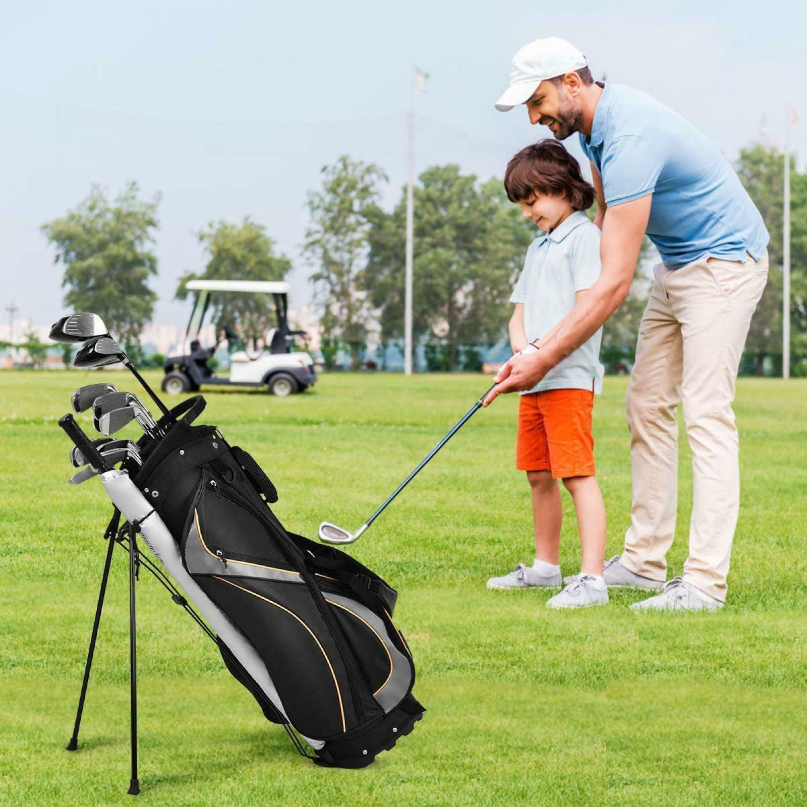 Golf Bag 7 Way Dividers Stand Travel