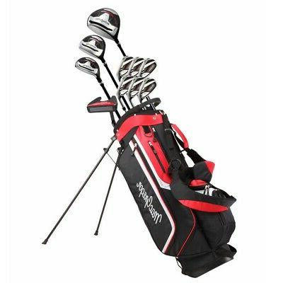 golf cg3000 golf clubs set with bag