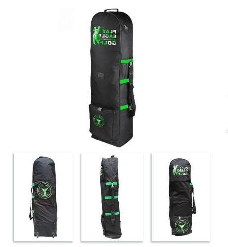 Golf Club Cover Carry Black Case