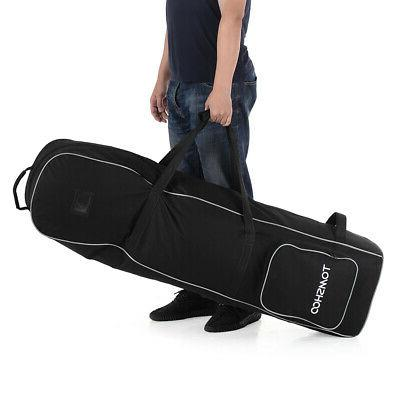 Wheeled Golf Smooth Rolling Travel Bag Water Resistant Cover