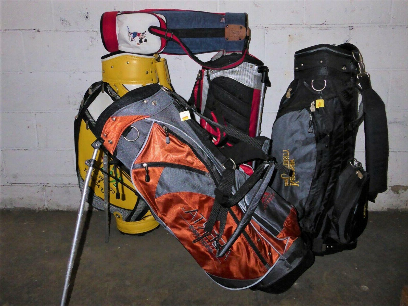 golf club bags huge lot of 800