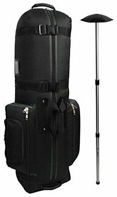 CaddyDaddy Golf Constrictor 2 Travel Cover Black/Grey with N