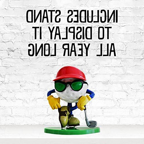 Be The Golf Stand, Dude Figurine