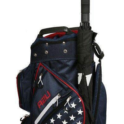 Prosimmon Way Cart USA Flag
