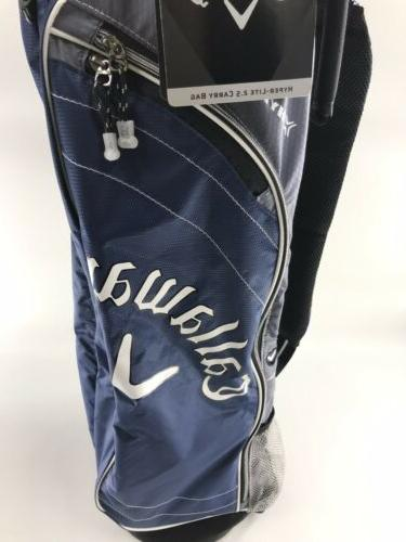 Callaway Golf Hyper Lite 2.5 3 Way Divider Golf Bag