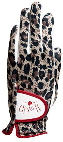 Golf Glove in Leopard