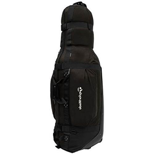 golf players cover bag black