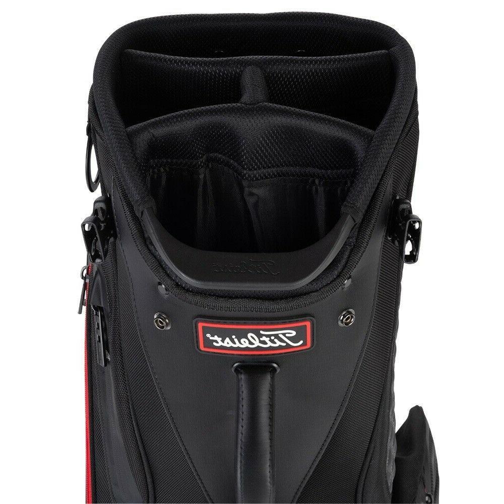 Titleist Golf Premium Bag Black New