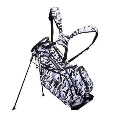 golf premium tour stand carry bag camo