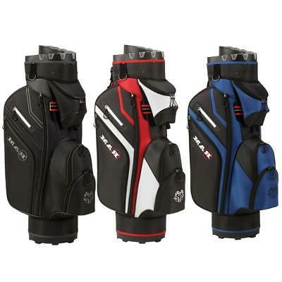golf premium trolley bag with 14 way