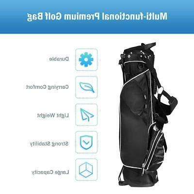 Tangkula Golf Lightweight Golf Bag Easy