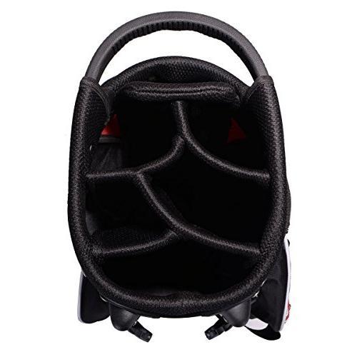 Tangkula Golf Bag w/6 Way Divider Organizer Pockets