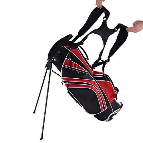 Tangkula Golf w/6 Way Divider Organizer