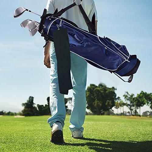 Tangkula Organized Bag Carry Shoulder 3 Way Dividers Storage, Blue