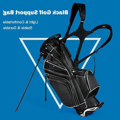 Golf Stand Club Divider Carry Organizer Storage