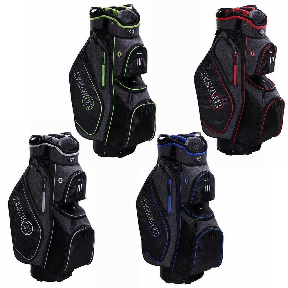 golf tour cart bag with 14 full