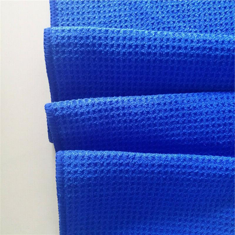 Golf Towel Blue New for Golf Bag Carabiner Hook