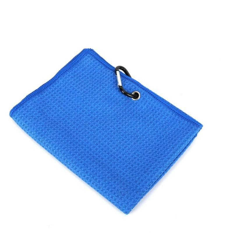 Golf Towel Microfiber New Large Waffle Golf + Carabiner