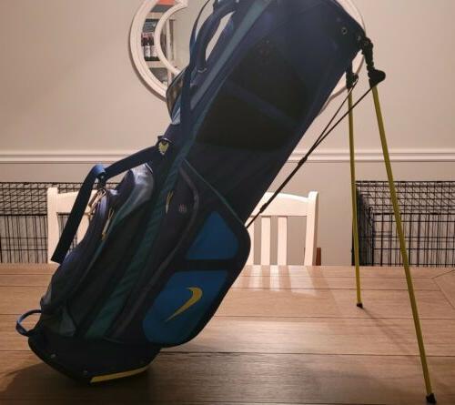 Nike Golf Vapor Stand Blue Green.