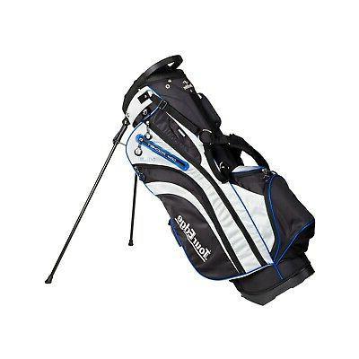 hl3 golf stand bag black silver lime