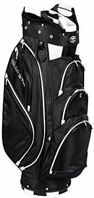 Hot-Z Golf 4.5 Cart Bag Black/White New