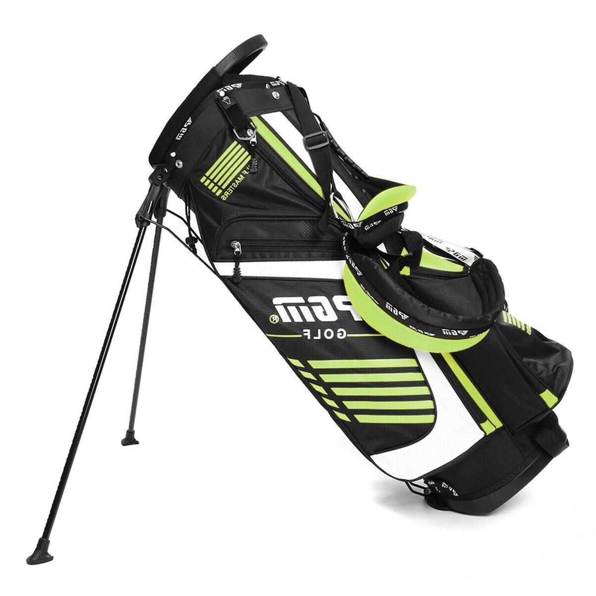 14 Way Full Length Divider Golf Bag Multi Pockets