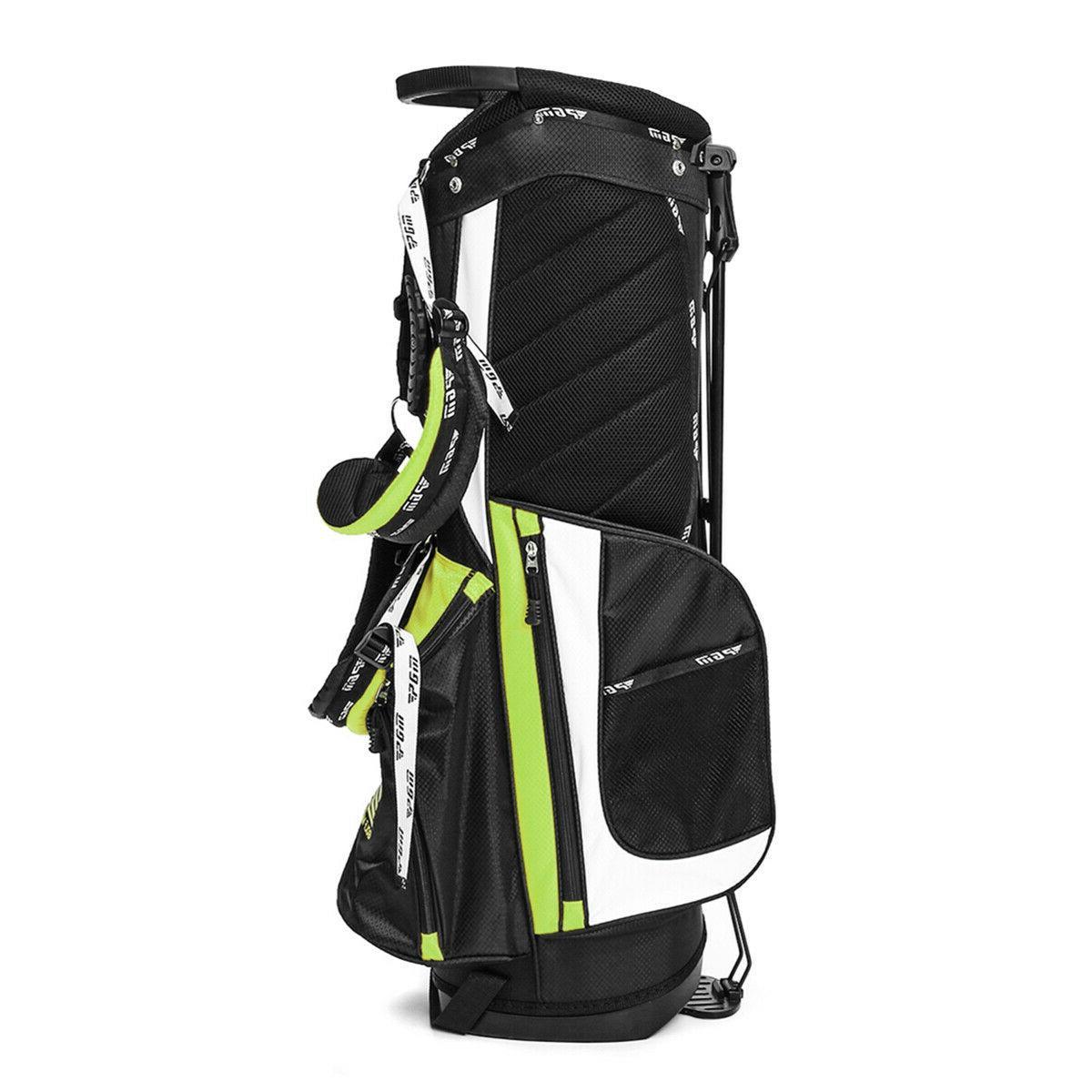 14 Way Full Length Divider Golf Cart Bag Multi Pockets 3