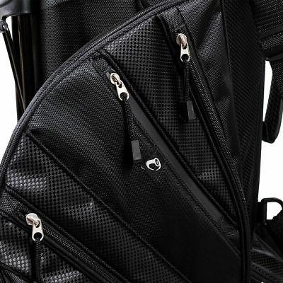 Hyper-Lite Bag 6 Way w/Shoulder Strap Rain Cover Black