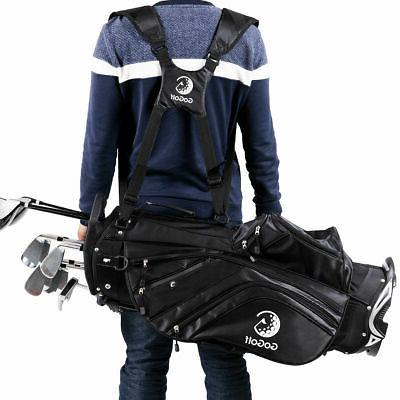Hyper-Lite Golf Bag 6 w/Shoulder Strap Rain Cover