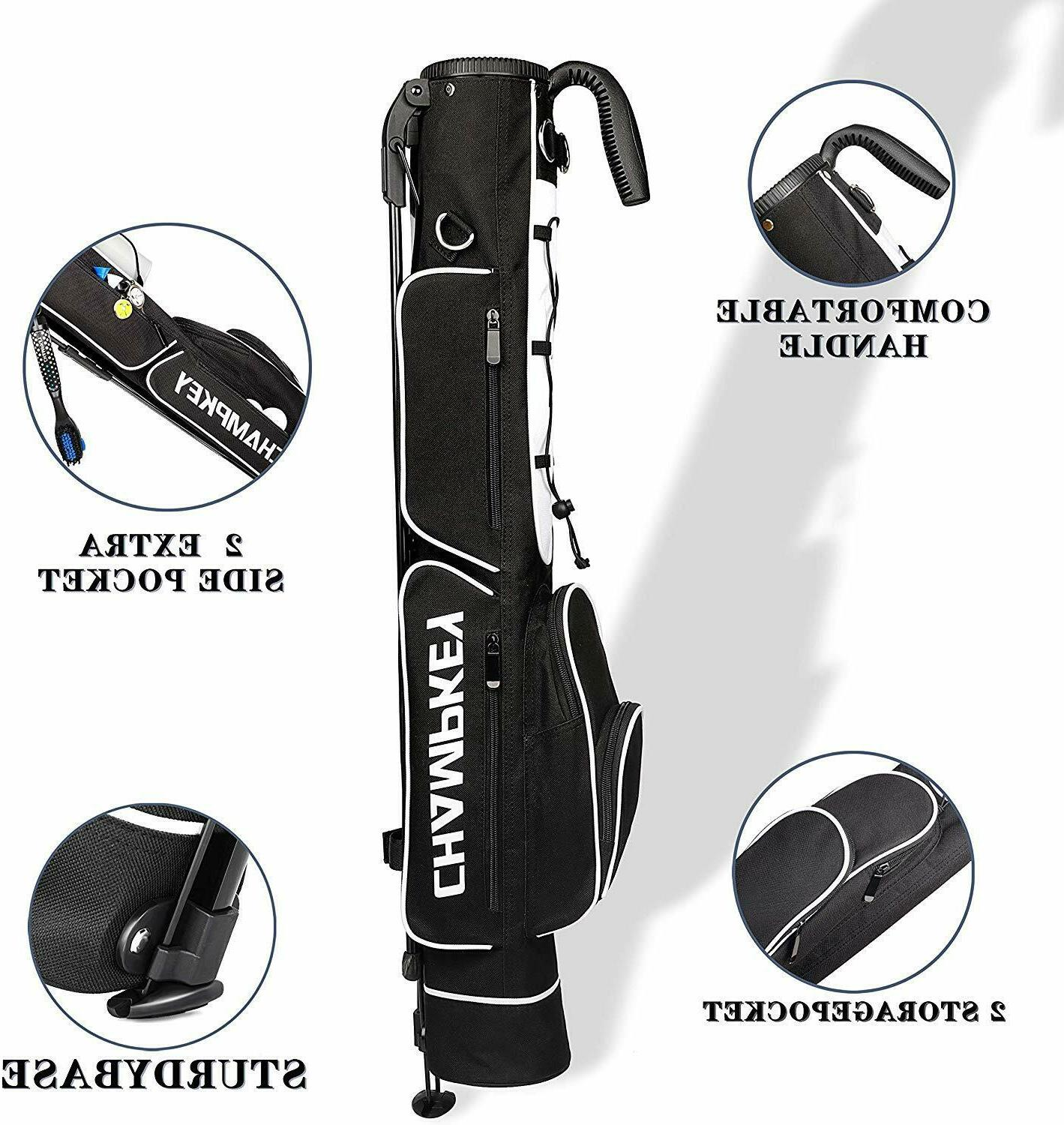 Champkey Stand Bag Carry & Durable Pitch Golf