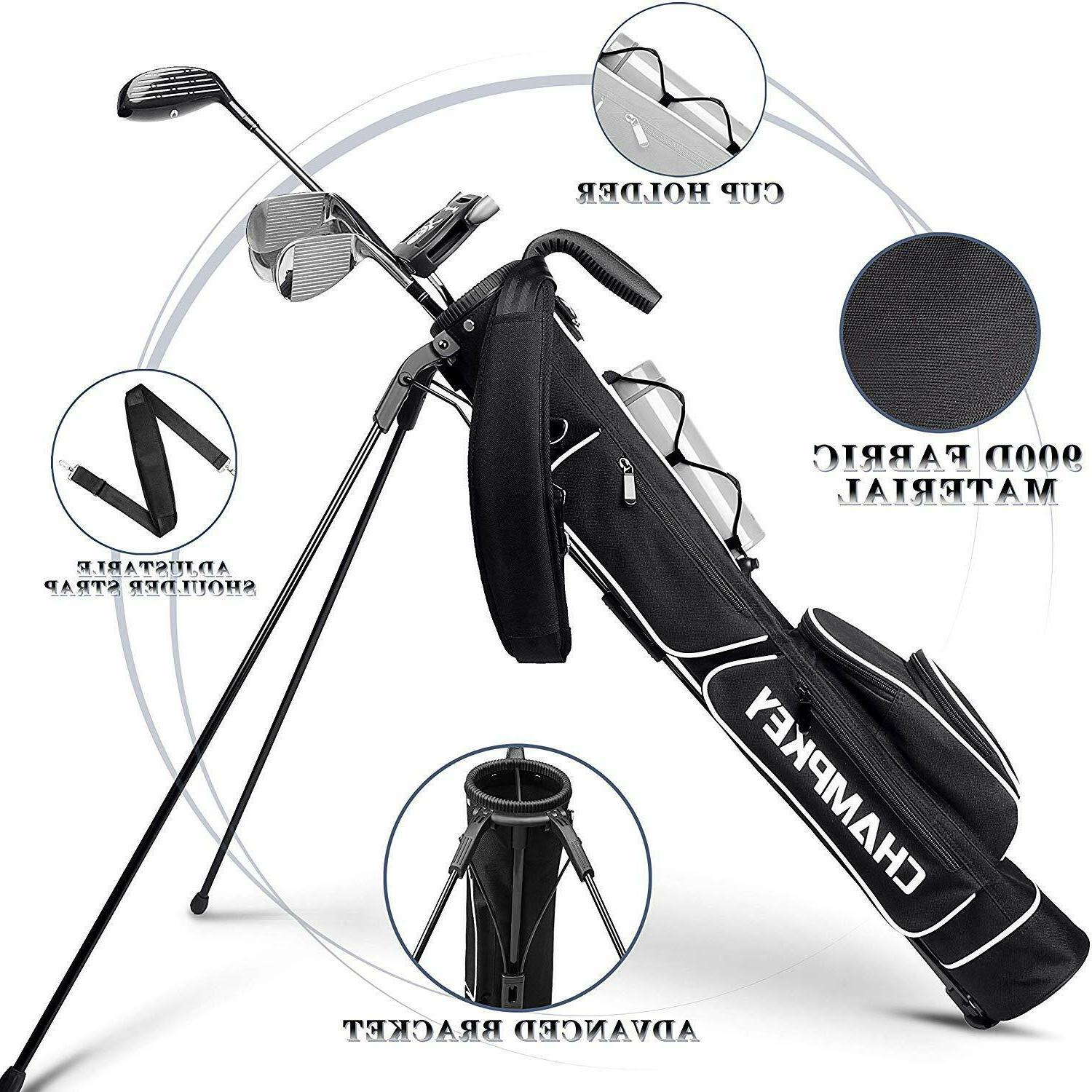 Champkey Stand Bag - Easy Carry Durable Pitch Golf