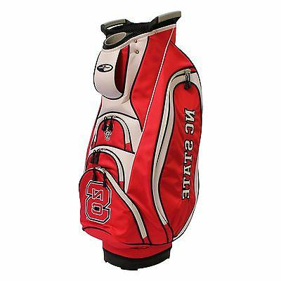 NEW MODEL! Team Golf NC State Wolfpack Victory Cart Golf Bag